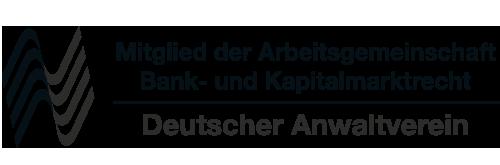 Mitglied der Arbeitsgemeinschaft Bankrecht & Kapitalmarktrecht